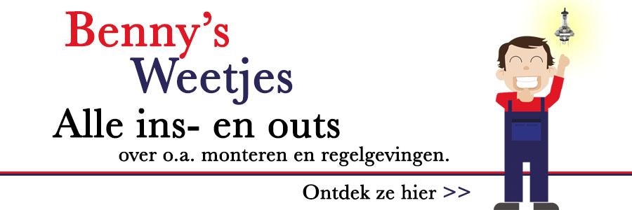 Benny's Weetjes banner