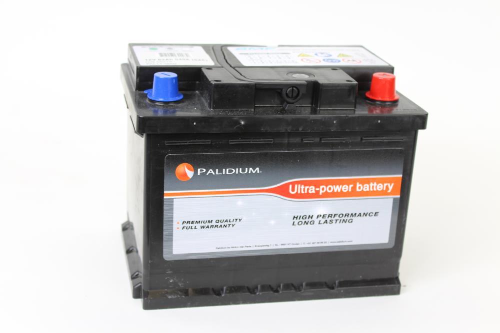 Palidium 62Ah Accu PAL11-0002, - + 242x175x190