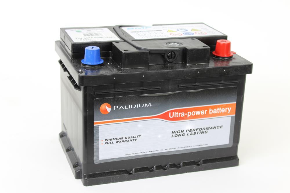 Palidium 55Ah Accu PAL11-0003, - + 242x175x175