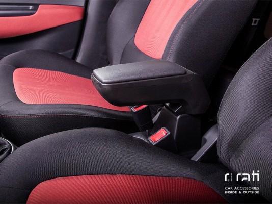 Armsteun Armster S black Fiat PANDA 04- ZWART