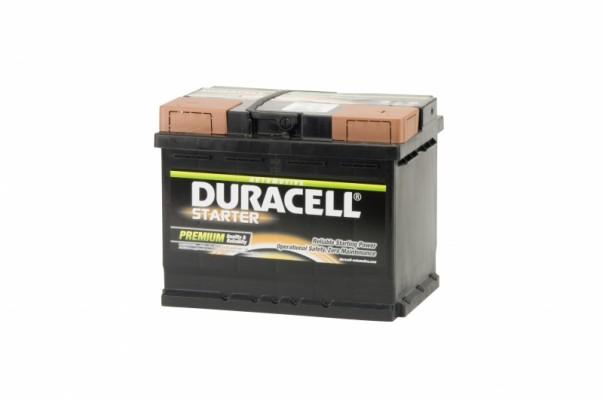 Duracell Accu Starter 62Ah - + 241x175x190