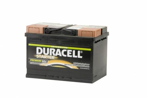 Duracell Accu Starter 72Ah + - 278x175x190