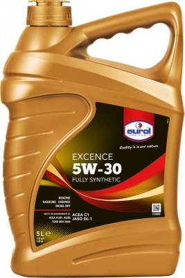 Eurol_Excence_5W-30_Fully_Synthetic_5L
