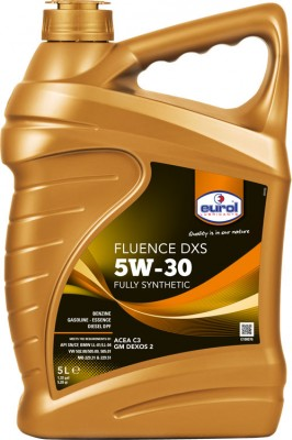 Eurol_Fluence_DXS_5W-30_Fully_Synthetic_5L