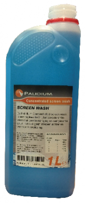 Palidium concentrated screen wash