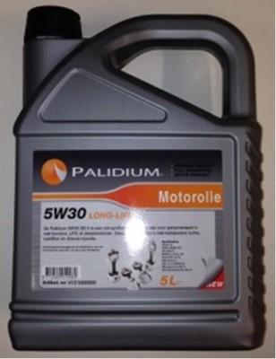 Motorolie Palidium 5W30 Long Life + roetfilter