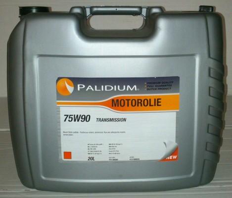 Versnellingsbakolie Palidium 75W90