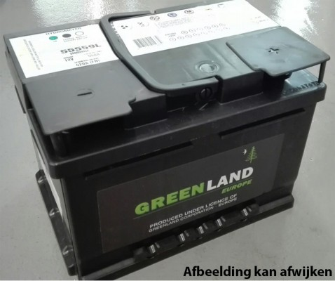 Greenland accu 62ah - + 246x175x190