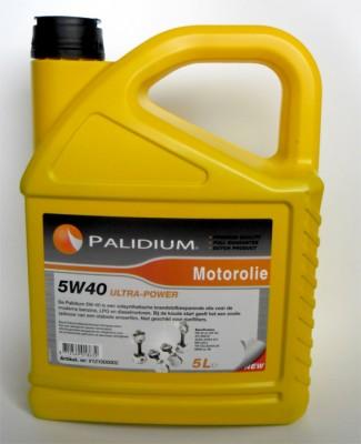 Motorolie Palidium 5W40